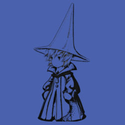 Black Mage Male - Heavy Cotton ™ 100% Cotton T Shirt Design
