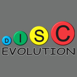 Disc Evolution - Heavy Cotton ™ 100% Cotton T Shirt Design