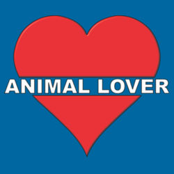 Animal Lover - Heavy Cotton ™ 100% Cotton T Shirt Design