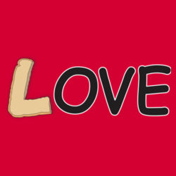 Bread Love - Heavy Cotton ™ 100% Cotton T Shirt Design