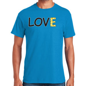 Cheese Love - Heavy Cotton ™ 100% Cotton T Shirt Thumbnail