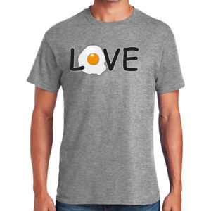 Egg Love - Heavy Cotton ™ 100% Cotton T Shirt Thumbnail