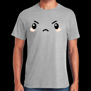 Angry - Heavy Cotton ™ 100% Cotton T Shirt Thumbnail