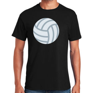 Volleyball - Heavy Cotton ™ 100% Cotton T Shirt Thumbnail