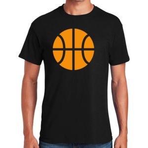 Basketball - Heavy Cotton ™ 100% Cotton T Shirt Thumbnail
