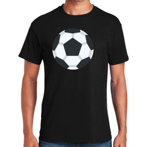 Soccerball - Heavy Cotton ™ 100% Cotton T Shirt Thumbnail