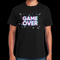 Game Over - Heavy Cotton ™ 100% Cotton T Shirt Thumbnail