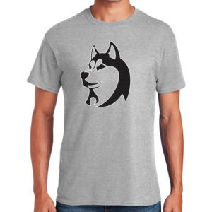 Husky Head - Heavy Cotton ™ 100% Cotton T Shirt Thumbnail