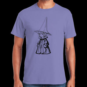 Black Mage Male - Heavy Cotton ™ 100% Cotton T Shirt Thumbnail