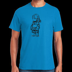 Warrior Female - Heavy Cotton ™ 100% Cotton T Shirt Thumbnail