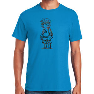 Warrior Male - Heavy Cotton ™ 100% Cotton T Shirt Thumbnail